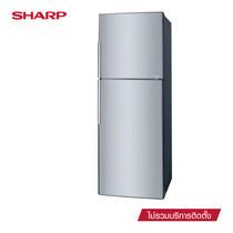 SHARP ตู้เย็น 2 ประตู New Smile Inverter ขนาด 10.6Q รุ่น SJ-X300T-SL (Silver)