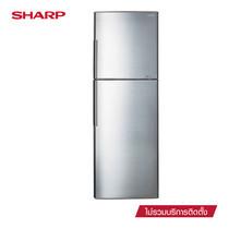 SHARP ตู้เย็น 2 ประตู J-TECH INVERTER ขนาด 11.6Q รุ่น SJ-X300T-SL (Silver)
