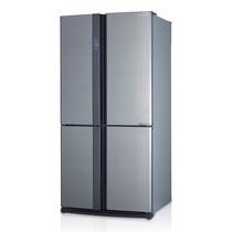 SHARP ตู้เย็น 4 ประตู New Luxio Inverter ขนาด 22.3Q รุ่น SJ-FX79T-SL (Silver)