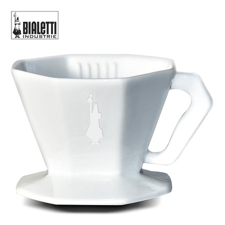 Bialetti ตัวกรองสำหรับดริปกาแฟ รุ่น VOGUE Pour Over Ceramic (BL-0006367) ขนาด 4 ถ้วย