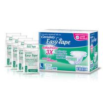 Certainty Easy Tape Super Save ผ้าอ้อมผู้ใหญ่แบบเทป ไซส์ L (ยกลัง 96 ชิ้น)  ฟรี!ผ้าขนหนูรักแม่ 1 ผืน