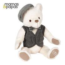 Mamas & Papas ตุ๊กตาหมีผู้ชาย My First Bear Blue