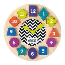 Mamas & Papas ของเล่นไม้ Babyplay - Teaching Clock