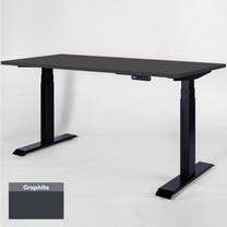 โต๊ะเพื่อสุขภาพเออร์โกเทรน Sit 2 Stand GEN3 Top-Graphite 120*60