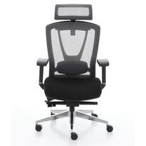 Ergotrend เก้าอี้เพื่อสุขภาพ เก้าอี้สำนักงาน เก้าอี้ทำงาน เออร์โกเทรน รุ่น ERGO-X Black