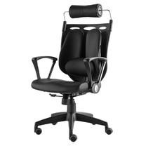 Ergotrend เก้าอี้เพื่อสุขภาพ เก้าอี้ทำงาน เก้าอี้สำนักงาน เออร์โกเทรน รุ่น Dual NL-05BPP สีดำ