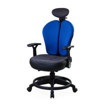 Ergotrend เก้าอี้เพื่อสุขภาพ เก้าอี้ทำงาน เก้าอี้สำนักงาน เออร์โกเทรน รุ่น Dual-07UFF - สีน้ำเงิน