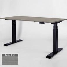 โต๊ะเพื่อสุขภาพเออร์โกเทรน Sit 2 Stand GEN3 Top-Combi Grey 120*60