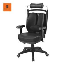 Ergotrend เก้าอี้เพื่อสุขภาพ รุ่น Dual-08BPP - เบาะหนังดำ