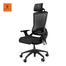 Ergotrend High Back with headrest เก้าอี้เพื่อสุขภาพ รุ่น CP5 - Black