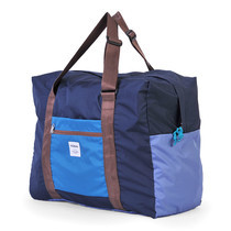 HELLOLULU กระเป๋าพับได้ รุ่น HALI 35L Packable Boston Bag BC-H80013-05 - สี Blue/ Lake Blue