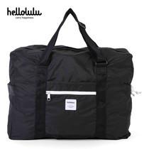 HELLOLULU กระเป๋าพับได้ รุ่น HALI 35L Packable Boston Bag BC-H80013-07 - สี Black