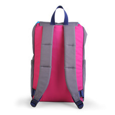 HELLOLULU กระเป๋าเป้ รุ่น Sutton All-Day Ruckpack BC-H50110-08 - สี Dark Grey / Pink