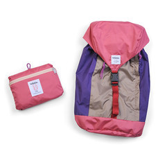HELLOLULU กระเป๋าเป้ รุ่น FRAN 25L Packable Backpack BC-H80012-04 - สี Almond / Pink