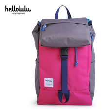 HELLOLULU กระเป๋าเป้ รุ่น Sutton All-Day Ruckpack BC-H50110-08 - สี Dark Grey / Pink