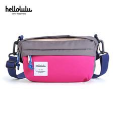 HELLOLULU กระเป๋าสะพาย รุ่น Hollis Mini All-Day Bag BC-H50108-08 - สี Dark Gray / Pink