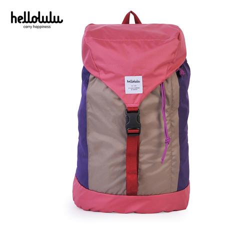 HELLOLULU กระเป๋าเป้ รุ่น BC-H80012-04 FRAN Packable Backpack 25L - สี Almond / Pink