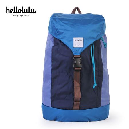 HELLOLULU กระเป๋าเป้ รุ่น BC-H80012-05 FRAN Packable Backpack 25L - สี Blue / Lake Blue