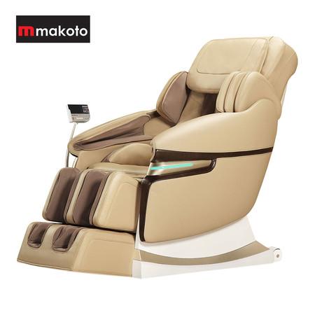Makoto เก้าอี้นวดไฟฟ้า รุ่น A70 - Cream/Beige