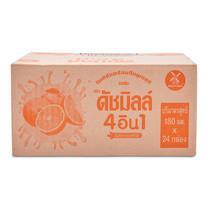 ดัชมิลล์ โยเกิร์ตพร้อมดื่ม ยูเอชที รสส้ม ขนาด 180 มล. แพ็ก 24 กล่อง