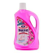 มาจิคลีน น้ำยาทำความสะอาดพื้น กลิ่นลิ่ลลี่บูเก้ สีชมพู ขนาด1800 มล