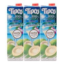 ทิปโก้ น้ำมะพร้าว 100% 1000 มล. x3 ชิ้น
