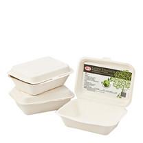 เอโร่ กล่องอาหารไบโอชานอ้อย ขนาด 600 มิลลิลิตร แพ็ค x 50 ใบ