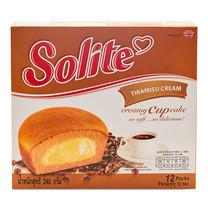 โซไลท์ ทีรามิสุคัสตาร์คเค็ก ขนาด20 ก. แพ็ก 12ชิ้น