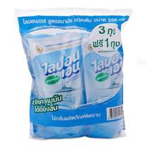 ไลปอนเอฟ น้ำยาล้างจาน ขนาด 550 มล. แพ็ก 3 ถุง