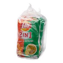 เลย์ 2IN1 กุ้งเผาน้ำจิ้มซีฟู้ด ห่อละ 50 ก. แพ็กละ 6 ห่อ