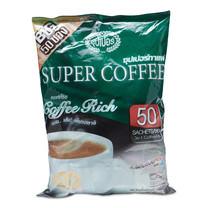 ซุปเปอร์ริช กาแฟปรุงสำเร็จ ขนาด 20 ก. แพ็ก 50 ซอง.