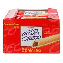 ครีโก้ เวเฟอร์สอดไส้ช็อกโกแลต ขนาด 18 กรัม (12 ซอง)