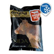 นิดาบีฟ เนื้อวัวสเต็กปรุงรสแช่แข็ง 1000 ก. x 1 แพ็ก