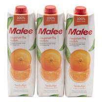 มาลี น้ำส้ม แมนดาริน 100% 1000 มล. x 3 กล่อง