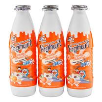 ดีโด้ น้ำส้ม 10% + โยเกิร์ต ขนาด 300 มิลลิลิตร 6 ขวด