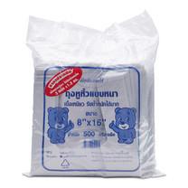 แพ็ท ถุงหูหิ้วหนาสีขาว 8x16 นิ้ว 1.5 กก.