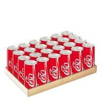 โค้ก เครื่องดื่มน้ำอัดลม 325 มิลลิลิตร 24 กระป๋อง