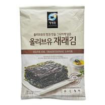 ชองจองวอน สาหร่ายเกาหลีปรุงรส 5แผ่น