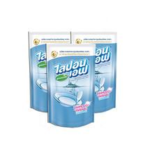 ไลปอนเอฟ น้ำยาล้างจาน 550 มิลลิลิตร (3 ถุง)