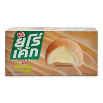 ยูโร เค้ก พัฟเค้กสอดไส้คัสตาร์ดครีม 17 ก. 12 ชิ้น