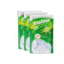 ไลปอนเอฟ น้ำยาล้างจาน กลิ่นชามะนาว 500 มิลลิลิตร (3 ถุง)