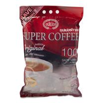 ซุปเปอร์กาแฟ กาแฟปรุงสำเร็จ 3 อิน 1 คอฟฟี่ริช ขนาด 20 ก. แพ็กละ 100 ซอง.