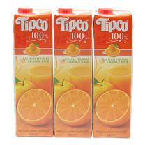 ทิปโก้ น้ำส้มสายน้ำผึ้ง 100% 1000 มิลลิลิตร x 3 กล่อง