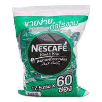 เนสกาแฟ กาแฟสำเร็จรูปเบลนด์แอนบรู เอสเปรสโซ โรสต์ ขนาด 17.5 ก. ถุงละ 60 ซอง.