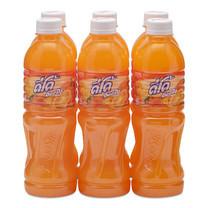 ดีโด้ น้ำผลไม้รสส้ม 10% 400 มล. แพ็กละ 6 ขวด.
