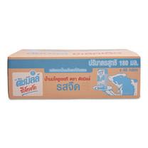 ดัชมิลล์ ซีเล็คเต็ด นมยูเอชที รสจืด ขนาด 180 มล. แพ็ก 48 กล่อง