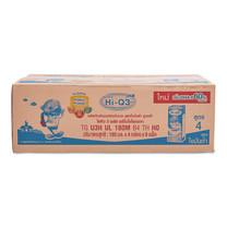 ไฮคิว 3พลัส นมยูเอชที รสจืด สูตรไขมันต่ำ 180 มล. x 36 กล่อง