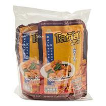 โลตัส ขนมน่องไก่ รสบาร์บีคิว ขนาด 50 กรัม แพ็ก 4 ซอง