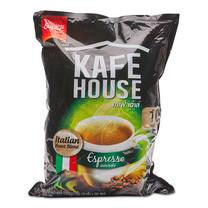 คาเฟ่เฮ้าส์ 3 อิน 1 เอสเปรสโซ่ กาแฟปรุงสำเร็จ ชนิดผง ขนาด 17 ก. แพ็กละ 100 ซอง.
