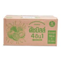 ดัชมิลล์ รสผลไม้รวม 180 มล. 24 กล่อง